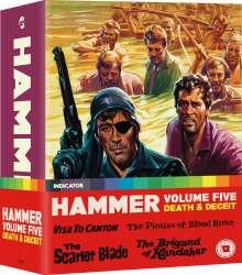 Hammer Box Volume Five (Blu-ray) (UK Import), 4 Blu-ray Discs