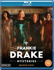 Frankie Drake Mysteries Season 4 (Blu-ray) (UK Import), 3 Blu-ray Discs