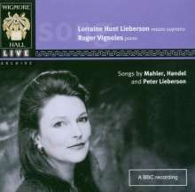 Lorraine Hunt Lieberson - Live at Wigmore Hall 30.11.1998, CD