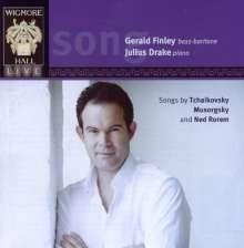 Gerald Finley singt Lieder, CD