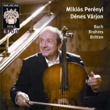 Miklos Perenyi - Wigmore Hall Live, CD