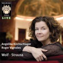 Angelika Kirchschlager: at Wigmore Hall, CD