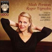 Miah Persson singt Lieder, CD