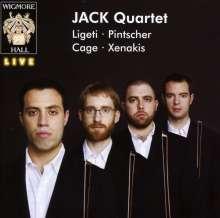 Jack Quartet, CD