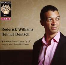 Roderick Williams - Wigmore Hall Concert 25.2.2011, CD