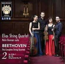 Ludwig van Beethoven (1770-1827): Sämtliche Streichquartette Vol.2, 2 CDs