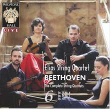 Ludwig van Beethoven (1770-1827): Streichquartette Nr.6,8,16, 2 CDs