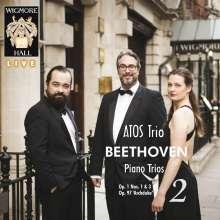 Ludwig van Beethoven (1770-1827): Klaviertrios Vol.2, 2 CDs