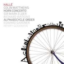 Colin Matthews (geb. 1946): Hornkonzert, CD