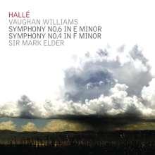 Ralph Vaughan Williams (1872-1958): Symphonien Nr.4 & 6, CD