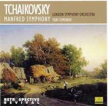 Peter Iljitsch Tschaikowsky (1840-1893): Manfred-Symphonie op.58, CD