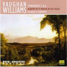 Ralph Vaughan Williams (1872-1958): Symphonien Nr.5 & 6, CD