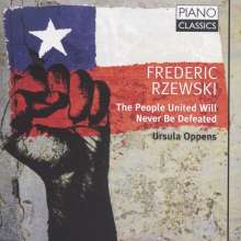 Frederic Rzewski (geb. 1938): The People United will never be defeated, CD