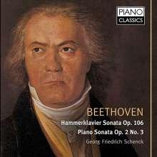 Ludwig van Beethoven (1770-1827): Klaviersonaten Nr.3 & 29, CD