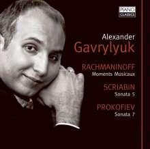 Sergej Rachmaninoff (1873-1943): Moments musicaux op.16, CD