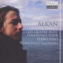 "Charles Alkan (1813-1888): Grande Sonate op.33 ""Le Quatre Ages"", CD"