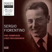 Sergio Fiorentino Edition 2 - Complete Liszt Recordings, 6 CDs
