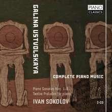 Galina Ustvolskaya (1919-2007): Sämtliche Klavierwerke, 2 CDs