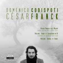 Cesar Franck (1822-1890): Klaviersonate in A (nach der Violinsonate), CD