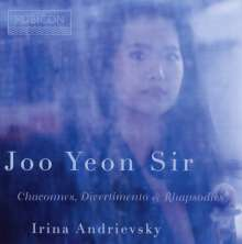 Joo Yeon Sir & Irina Andrievsky - Chaconnes, Divertimento & Rhapsodies, CD