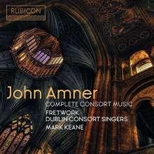 John Amner (1579-1641): Complete Consort Music, CD