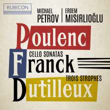 Michael Petrov - Cello Sonatas, CD