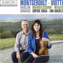 Helene de Montgeroult (1764-1836): Violinsonate a-moll, CD
