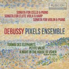 Claude Debussy (1862-1918): Sonate für Violine & Klavier, CD