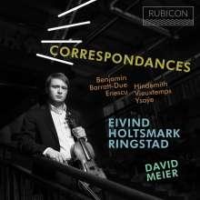 Eivind Ringstad & David Meier - Correspondances, CD