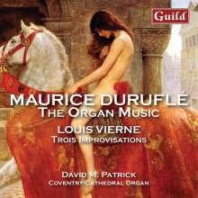 Maurice Durufle (1902-1986): Orgelwerke, CD