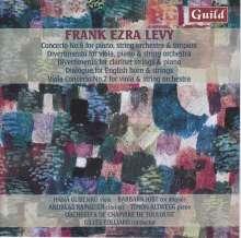 Frank Ezra Levy (geb. 1930): Konzert Nr.6 für Klavier, Streichorchester & Timpani, CD