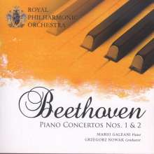 Ludwig van Beethoven (1770-1827): Klavierkonzert Nr.1 & 2, CD
