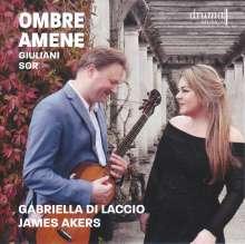 Gabriella di Laccio - Ombre Amene, CD