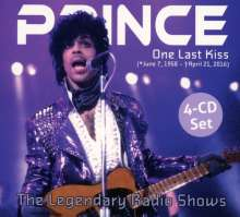 Prince: One Last Kiss: The Legendary Radio Shows, 4 CDs
