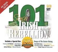 101 Songs Of Irish Rebellion, 5 CDs
