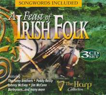 Various Artists: A Feast Of Irish Folk, 3 CDs