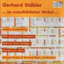 Gerhard Stäbler (geb. 1949): ...im unaufhörlichen Wirbel..., CD