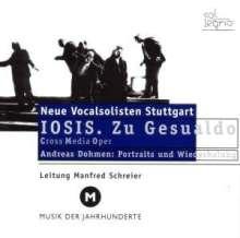 Neue Vocalsolisten Stuttgart - IOSIS.Zu Gesualdo, CD