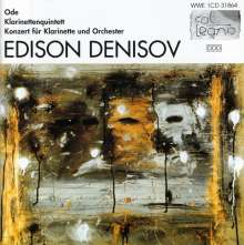Edison Denisov (1929-1996): Klarinettenkonzert, CD