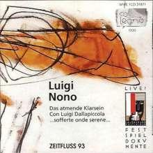 Luigi Nono (1924-1990): Das atmende Klarsein, CD