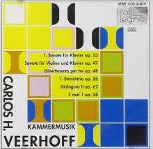 Carlos Veerhoff (1926-2011): Kammermusik, CD