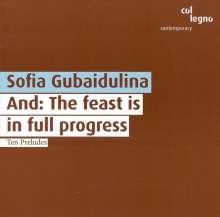 "Sofia Gubaidulina (geb. 1931): Cellokonzert Nr.2 ""And:The Feast is in full Progress"", CD"