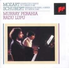 Wolfgang Amadeus Mozart (1756-1791): Sonate für 2 Klaviere KV 448, CD