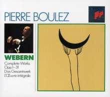 Anton Webern (1883-1945): Sämtliche Werke op.1 - op.31, 3 CDs