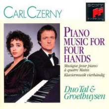 Carl Czerny (1791-1857): Klavierwerke zu 4 Händen, CD