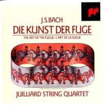 Johann Sebastian Bach (1685-1750): Die Kunst der Fuge BWV 1080 für Streichquartett, 2 CDs