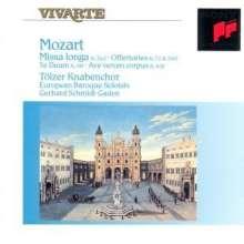 Wolfgang Amadeus Mozart (1756-1791): Missa in C-Dur KV 262, CD