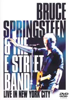 Bruce Springsteen: Live In New York City, 2 DVDs
