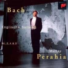 Johann Sebastian Bach (1685-1750): Englische Suiten BWV 807,809,810, CD