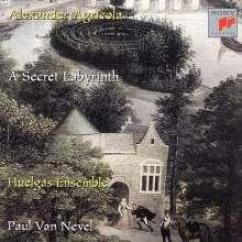 Alexander Agricola (1446-1506): Geistliche Werke (Ein geheimes Labyrinth), CD